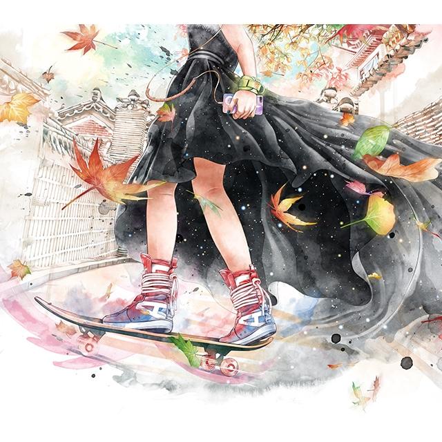 Street Style Skater Girl