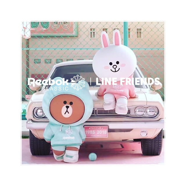 REEBOK X LINE FRIENDS